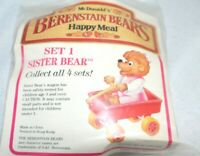 1987 Berenstain Bears McDonalds Happy Meal Toy -  Sister Bear # 1 New Ships Free