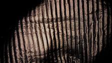 tissu matelasse scuba neoprene enduit facon skai  col bronze
