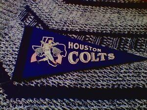 Vintage (Houston Colts) Mini (Baseball Pennant)