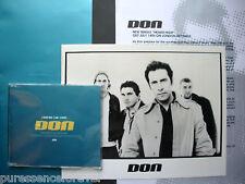 DON - Heads High (UK 3 Tk DJ CD Single/Press Pack)