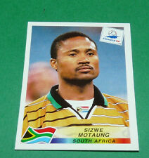N°177 MOTAUNG SOUTH AFRICA AFS PANINI FOOTBALL FRANCE 98 1998 COUPE MONDE WM