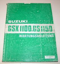 Werkstatthandbuch Suzuki GSX 1100 / GS 1150 - Stand 1984!