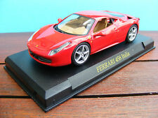 Ferrari 458 Italia in Racing Red 1:43 rd Scale  Diecast Model