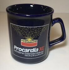 Vintage Pfizer Procardia Xl Pharmaceutical Collectible Coffee Mugs