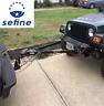 Smittybilt 87450 Tow Bar Kit w/ D-ring Brackets & Coupler For All Jeeps