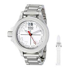 Esq Movado Fusion White Dial Stainless Steel Ladies Swiss Quartz Watch 07101404