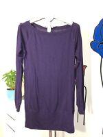 Nike Women's Size S Purple Dri-Fit Long Sleeve Top