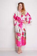 Kimono Polyester Plus Size Everyday Nightwear for Women
