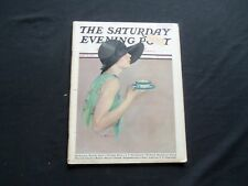 1928 MARCH 24 THE SATURDAY EVENING POST MAGAZINE - ILLUSTRATED COVER -SP 1309