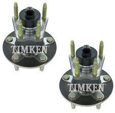 Pair Set 2 Rear Timken Wheel Bearing & Hub Kits for Chevrolet Pontiac Saturn FWD