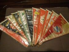 Vintage Bundesliga Deutscher Meister late 60's pennants