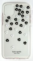 kate spade Defensive Hardshell Case for iPhone 11 Pro Max,Clear/Scattered Flower