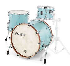 Sonor SQ1 - 3 Piece Kit Cruiser Blue 7ply 7mm Birch shells