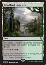 Woodland Cemetery Dominaria Magic mtg Moderate Play, English x1 1x