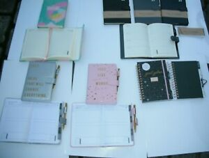 2022 Diary A5  Week to View or Day A Page Organiser Address Section + Pen.