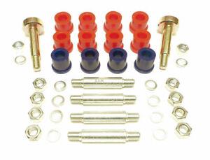 Morris Minor Rear Spring / Shackle Bush & Pin Kit - Polyurethane -NOT Van or P/U