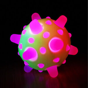 Blinking Boggleball - 6.5cm, mini, bouncy, LED, flashing, light up, sensory, toy