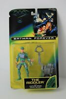 Batman Forever Riddler Figure Trapping Brain Drain Helmet Kenner MOC Jim Carrey