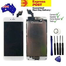 IPhone 6 Plus White LCD Screen Replacement Digitizer W/ Camera & Home Button