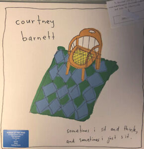 COURTNEY BARNETT - SOMETIMES I SIT AND THINK, AND SOMETIMES I JUST SIT (LP 33T)