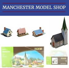 Faller 232220 N 1:160 Village set with a church and three houses NEW BOXED
