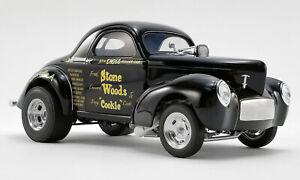 STONE WOODS & COOKIE 1941 WILLYS GASSER 1/18 DIECAST ACME DIECAST CAR 1/546