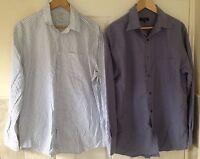 Mens Long Sleeve Shirt Bundle Size L Next & Gap. Great Condition.