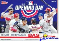 2019 Topps Opening Day Baseball Factory Sealed HUGE 11 Pack Blaster Box-77 Cards