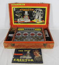 Vintage AC GILBERT ERECTOR SET #8½ Builds Giant Ferris Wheel Cardboard Case yqz