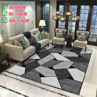 S M L Modern Soft Area Rugs Nonslip Crystal Fluff Home Room Carpet Floor Mat Rug
