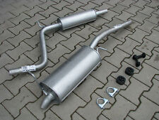 Auspuff Volkswagen Caddy III 1.4i 16V Kasten Kombi Auspuffanlage *F024