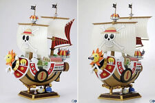 11'' Japanese Anime One Piece PVC Luffy Pirate Thousand Sunny Ship Boat Figure