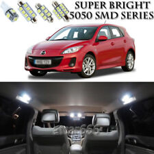 8 Xenon SMD White LED Interior Light Package Kit For Mazda 3 Hatchback 2004-2009