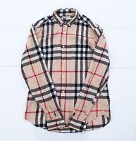 Burberry Brit Long Sleeve shirt nova check M size