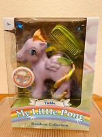 Hasbro My Little Pony Tickle Rainbow Collection Purple MultiColor Hair Repro NIP