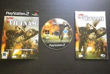 JEU Sony PLAYSTATION 2 PS2 : CONFLICT VIETNAM (Sci Games COMPLET envoi suivi)