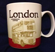 Starbucks London Mug v2 Buckingham Routemaster Bus 2015 Icon Coffee Cup