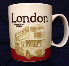 Starbucks London Icon Mug v2 Buckingham Palace Routemaster Bus Coffee Cup New