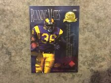 1996 COLLECTORS EDGE JEROME BETTIS PRESIDENTS RESERVE RUNNING MATES 43/2000 SP