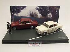 Alfa Romeo 1900 + Giulietta Polizia 1956 1:43 Rio4318D Modellino Diecast