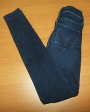 EUC HOLLISTER High Rise Skinny Jeans Size 00 R