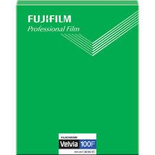 FUJI FUJIFILM VELVIA 100F 8x10 20 Sheet Film ISO100 Made in Japan Fresh