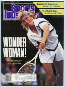 SI: Sports Illustrated July 16, 1990 Martina Navratilova, Tennis, VERY GOOD