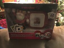 "Nextar Santa 1.5"" Digital Clock and  Photo Frame 60 Photos NIB 2005"