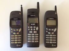 Vintage Nokia (x3) Cell Phones, Untested, For Parts Or Repair
