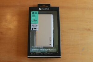 Mophie Hold Force Powerstation Plus Mini External Battery for Apple - Silver