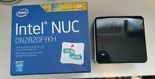 Intel NUC DN2820FYKH Mini PC, 2.1Ghz DualCore CPU, 4GB RAM, 80GB SSD, VESA Mount