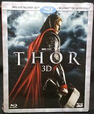 Thor [3D Blu-ray + Blu-ray, 2-Disc Set] w Slipcover REGION A