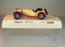 Solido 1/43 Nr. 4002 Jaguar SS 100 Cabrio creme/rot OVP #2888