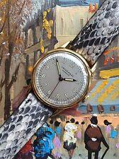 Vintage bicolor de oro macizo 18k Universal Geneve Reloj Para Hombre nos Estado!!!